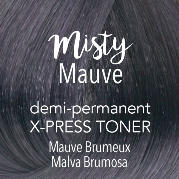 Demi-Permanent X‑PRESS Toner Misty Mauve