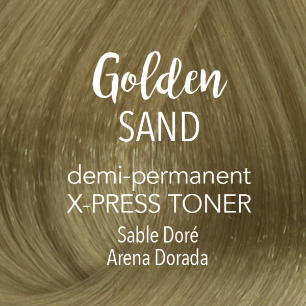 Demi-Permanent X‑PRESS Toner Golden Sand