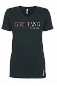Limited Edition Women's Rose Gold GIRL TANG Tees